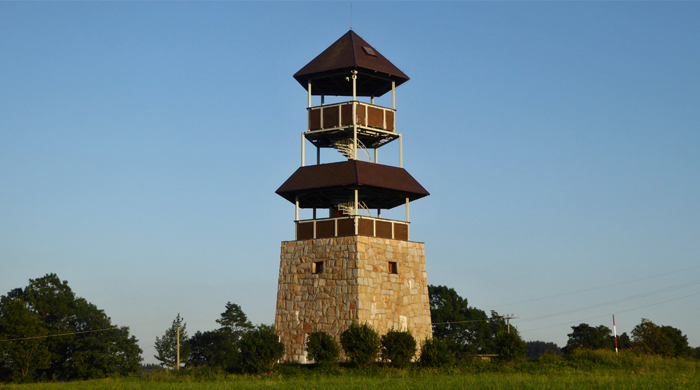 Vojtěchov observation tower architecture